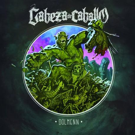 Cabeza de Caballo · Dölmenn LP (Black)