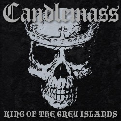 Candlemass - King of the Grey Islands 2LP Grey With White & Black Splatter Vinyl