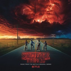 Stranger Things - Music From The Netflix Original Series 2LP + Mini Poster & Sticker