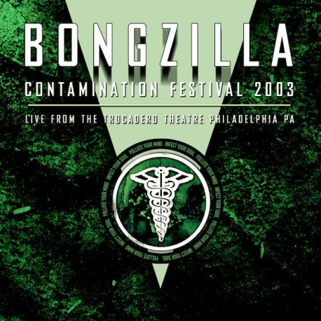 Bongzilla - Live From the Relapse Contamination Festival Bone White and Olive Green Merge