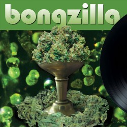 Bongzilla - Stash Olive Green with Brown, Doublement Green and Black Splatter