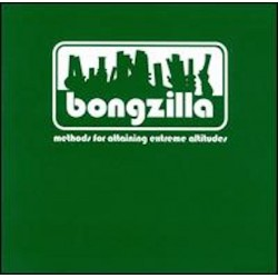 Bongzilla - Methods For Attaining Extreme Altitudes LP Milky Clear with White, Olive Green and Doublemint Green Splatter