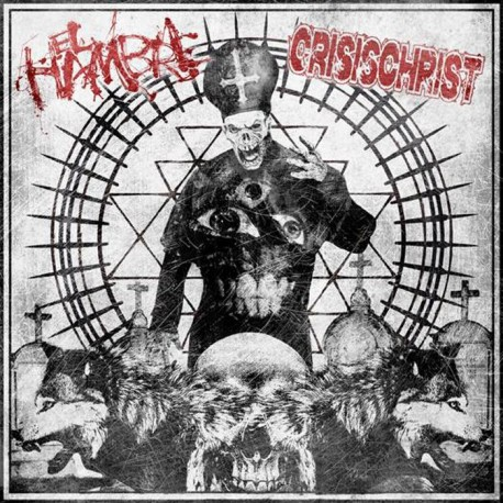 """El Hambre / Crisischrist Split (EP Black 7"""")"""