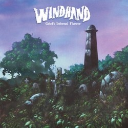 Windhand - Grief's Infernal Flower 2LP Clear with Purple, Olive Green and Bronze Splatter