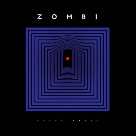 Zombi - Shape Shift 2LP Black Inside Blood Red