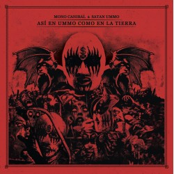 """Mono Canibal & Satan Ummo-Así en Ummo como en la Tierra 10"""" Color"""