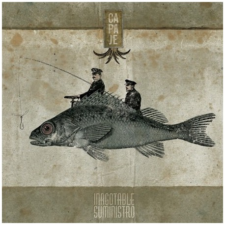 Capaje – Inagotable Suministro (LP Black)