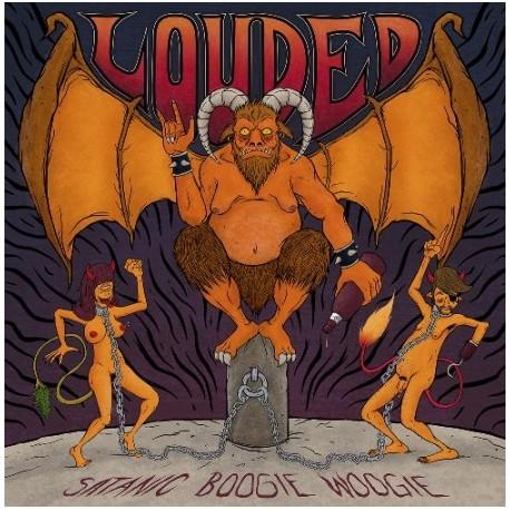 LOUDED · Satanic Boogie Woogie LP (black)