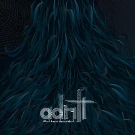 Adrift · Black Heart Bleeds Black 2xLP (Black)