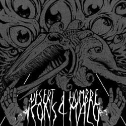 Desert Icons & Hombre Malo · Split LP (black)